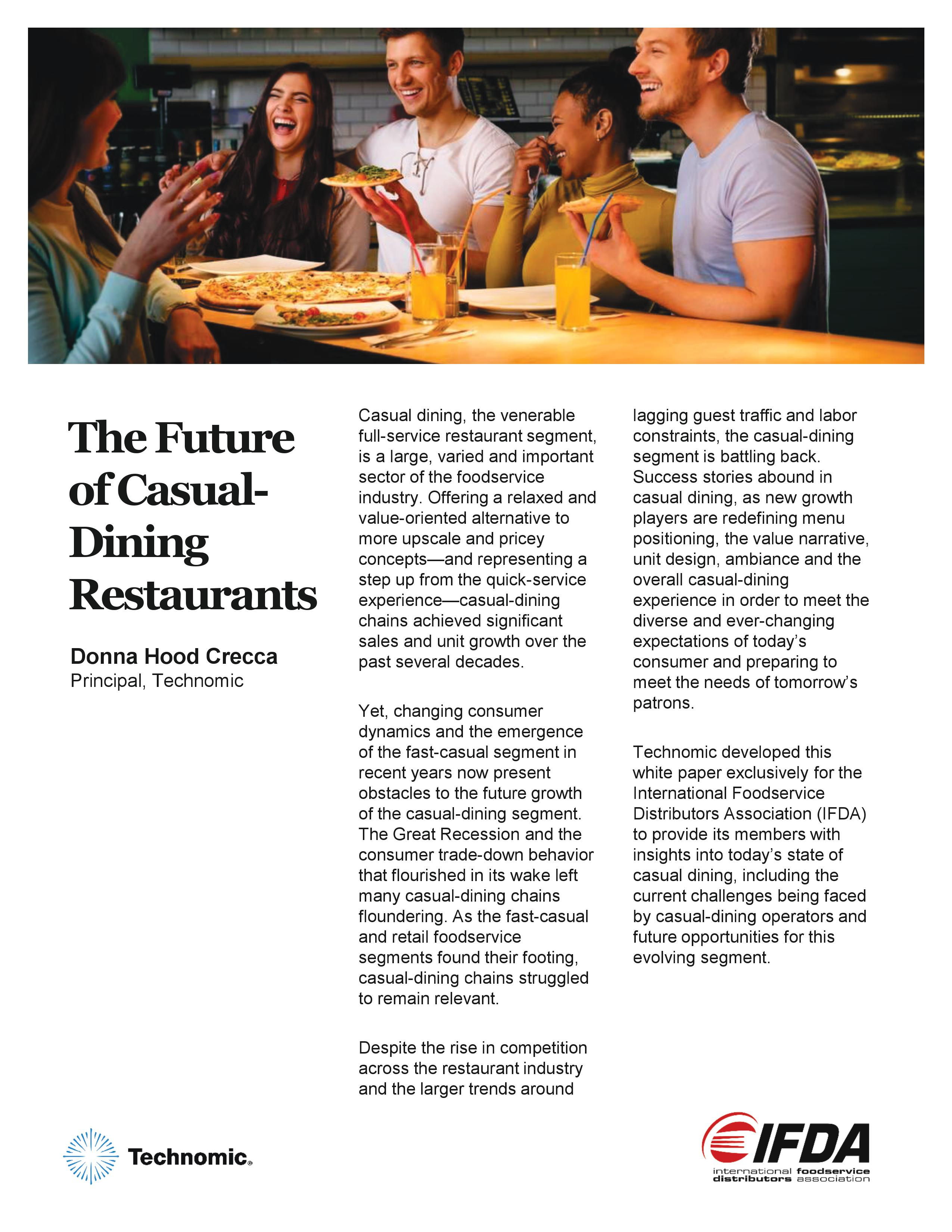 Thumbnail of The Future of Casual Dining Restaurants