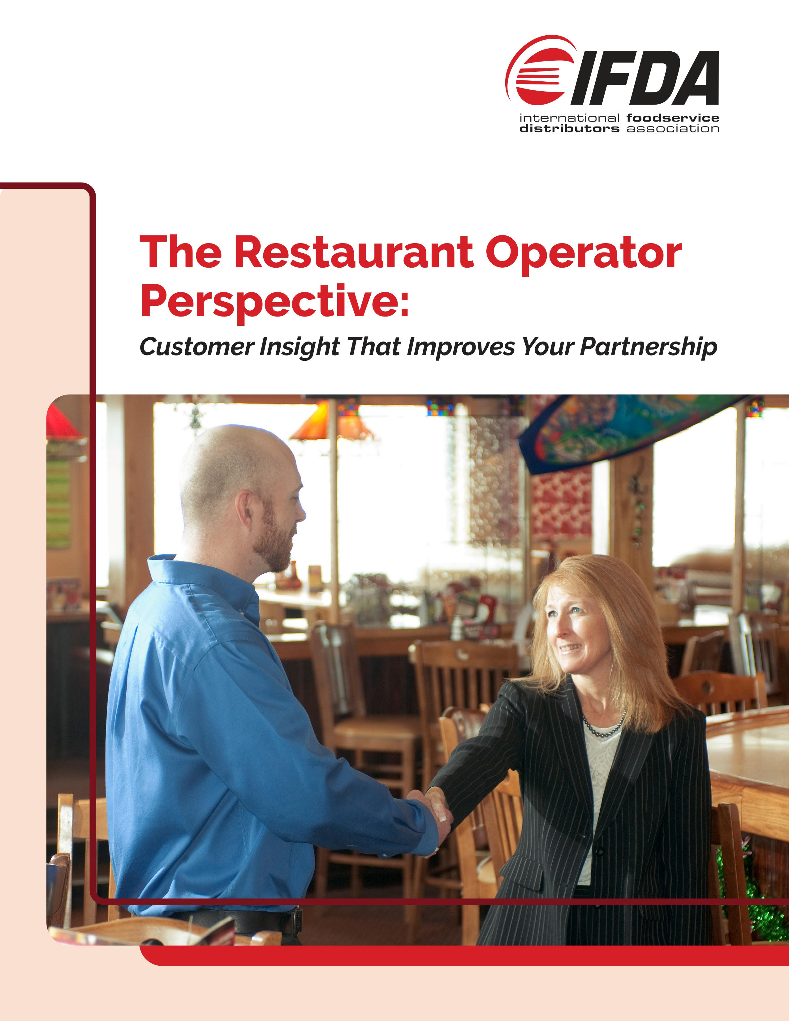 Thumbnail of The Restaurant Operator Perspective: Customer