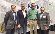 Rep. French Hill Joined with Ben E. Keith Executives for Facility Grand Opening
