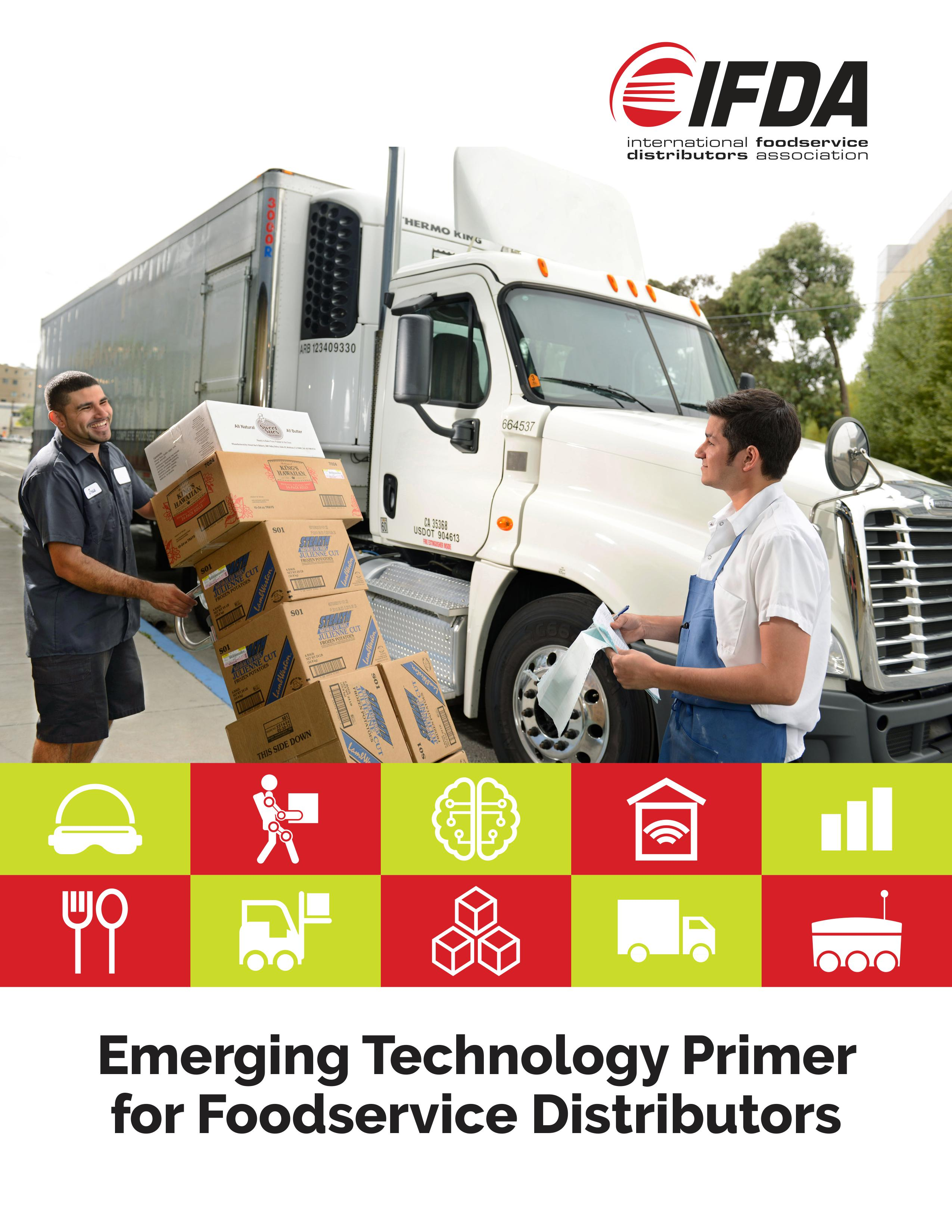 IFDA Releases Emerging Technology Primer for Foodservice Distributors