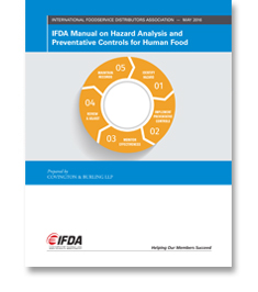 IFDA Manual on Hazard Analysis and Preventative Controls for Human Food
