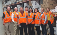 Rep. Collin Peterson visits Reinhart Foodservice