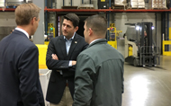 Speaker of the House Paul Ryan Visits Gordon Food Service
