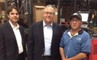Congressman David Young (R-IA) visits Sysco Iowa