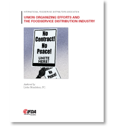 Union Organizing Efforts and the Foodservice Distribution Industry
