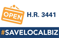 IFDA Applauds House Passage of the Save Local Business Act