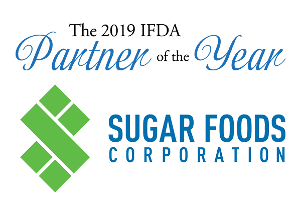 IFDA Names Sugar Foods Corporation 2019 Partner of the Year.
