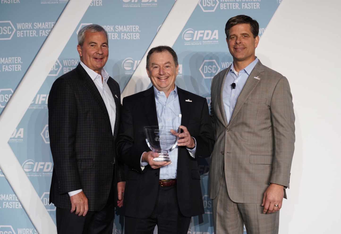 IFDA Announces Andy Mercier of Merchants Foodservice as Winner of the 2019 Cornerstone Award