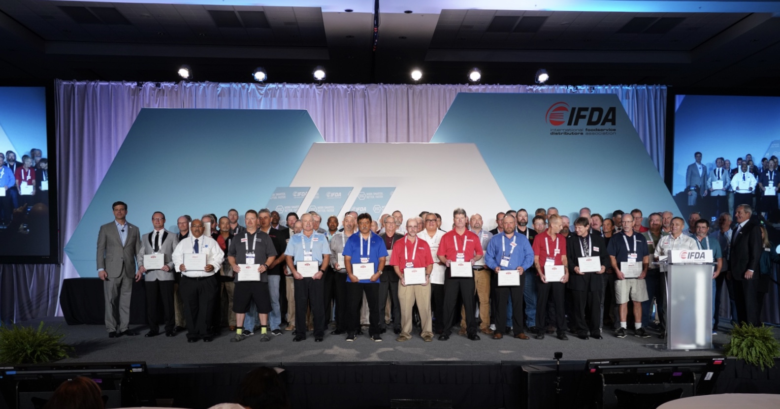 IFDA Celebrates the 2019 Truck Driver Hall of Fame Inductees