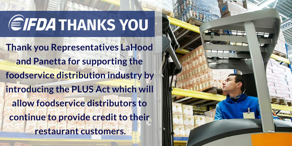 IFDA Applauds Introduction of Providing Liquidity for Uncollectable Sales (PLUS) Act
