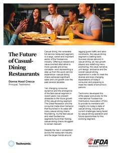 The Future of Casual Dining Restaurants