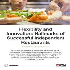 Flexibility and Innovation: Hallmarks of Successful Independent Restaurants